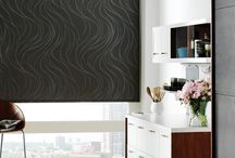 Designer Roller Shades by Hunter Douglas / Our Designer Roller Shades combine the ease and simplicity of a roller shade with hundreds of fabric choices—sheers to opaques, and floral patterns to traditional solid colors.
