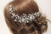 Gelinlerin saç çiçeği