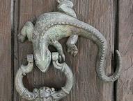 Door nobs and knockers