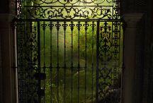 Gates.   Garden And More / by Karen Mendenhall