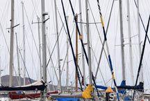 Barcos-1 / Pantalanes del Muelle Deportivo. Las Palmas de Gran Canaria. 12/08/2014
