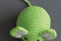 pour les enfants / je tricote des doudous pour mon association