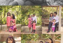 Buitenfotoshoot gezin