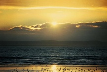 Land, sky and sea