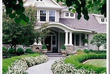 Home Exteriors   / by Marcy @ ANTIQUECHASE