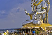 Murudeshwara town - Karnataka state - India country - Asia continent / Places to visit in the mentioned place..  Do drop by and check out all my boards :)..