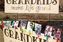 Gifts for Grandparents / Gifts   Grandparents   Grandkids   Grandchildren   DIY   Grandpa   Grandma   Craft   Homemade