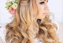 coiffures romantiques