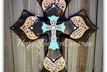 Crafts / Crosses / by Crabbies Boards