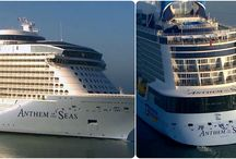 Cruise Ships Collages / Click on the images to check out our search widget to find the best cruise deals