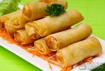 Culinária japonesa/chinesa / Eu me amarro na cozinha oriental ;)