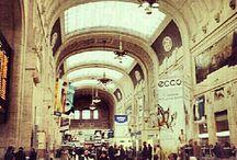 Viaggiare nel tempo. Stazione Centrale / Dalla cascina rinascimentale all'architettura contemporanea, una stazione tutta da scoprire.