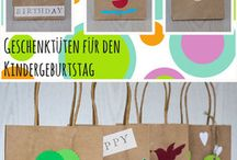 Bunte Kinderparty