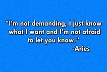 Aries / by Rahmeen Khan