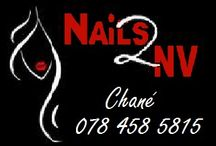 Nail 2NV / All nail art on this board is hand painted by Chane Kunz