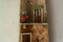 D I Y:ΔΙΑΣΚΟΣΜΗΤΙΚΑ ΚΕΡΑΜΙΔΙΑ / DIY roof tiles - tejas - tegole
