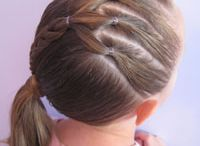 Cute hairstyles for Katie bug / by Tara Hicks-Russell