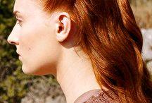 Sansa Stark-Game of Thrones / play by: Sophie Turner