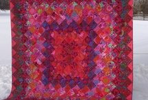 KFC Mini Quilt Swap Inspiration / Some of my favorite quilts made from Kaffe Fassette fabrics.