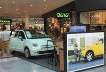 Qarson à Bordeaux-Mérignac / Qarson a ouvert une concession digitale au sein du centre commercial Mérignac Soleil en octobre 2016.