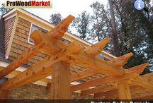 Pergola - Western Red Cedar