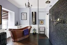Planning a new Bathroom / Top tips for planning a new bathroom: Plan, decide on style, get inspired, research brands, professionals to employ, budget, accessories