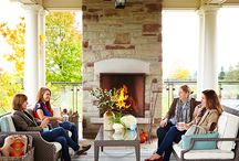 Outdoor Living / Outdoor living, patios, decks, outdoor showers, pools, landscaping, fire pits, fire tables
