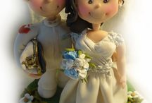 Marymade.it Uniform Cake Toppers / Looking for the perfect wedding cake topper idea for a wedding in high uniform? Marymade.it is the solution for you, I create personalised hand made wedding cake toppers