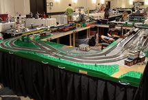 A LEGO treinen