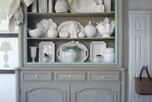 buffet meuble flamand gris