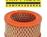 Elemento Filtrante para Compressores 20  40 e 60 pés Air Press Compressores