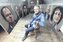 Collin Davidson / Amazing portrait artist