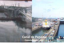 Antes y Despues / Canal de Panama