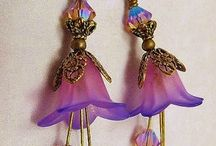 lucite vintage style jewelry