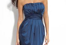 navy bridesmaid dresses / by em dash