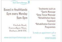 Oasis sports massage