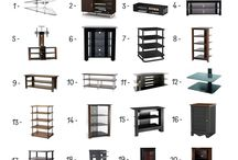 Audio-Video Shelving under 500$