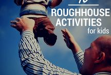 Toddler rough housing / Rough housing games with kids