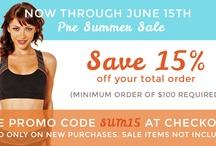 Sales / yoga clothing sales, yoga clothes sales at www.karmicfit.com