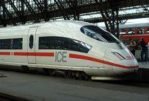 Treinen / Internationale hogesnelheidstreinen voor treinreizen binnen Europa.