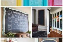 Crafts:  Chalkboards / Make Chalkboards and get ideas for chalkboard decorating and designs.