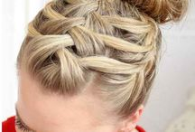 Gymnastics hair / by Kim Donahue