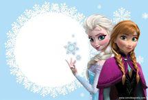 Frozen Elza e Ana