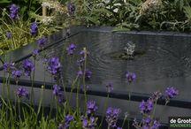 Watertafel Ideeën / Hier kan u ideetjes opdoen over hoe een watertafel te plaatsen in de tuin of op terras. Alle ideeën kunnen worden gerealiseerd via maatwerk van Viveretto. Meer informatie op www.watertafels.be