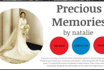 Precious Memories By Natalie / Beautiful memory books made using the EULOGY and PICTURES from the funeral to treasure forever in the family and for generations to come.  www.PreciousMemoriesByNatalie.com.au