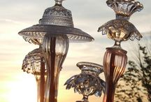 Glass totums for the garden / by Patricia Franz