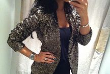 Sequin Blazer <3