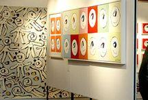 Bilder från utställningar / Cajsa Fredlunds konst