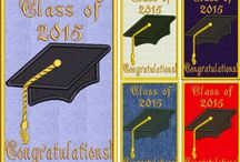 Dads & Grads, Father's Day & graduation embroidery designs / Embroidery designs for dads & grads to celebrate their days!