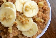 Healthy food ideas / Slow cooker banana nut oatmeal